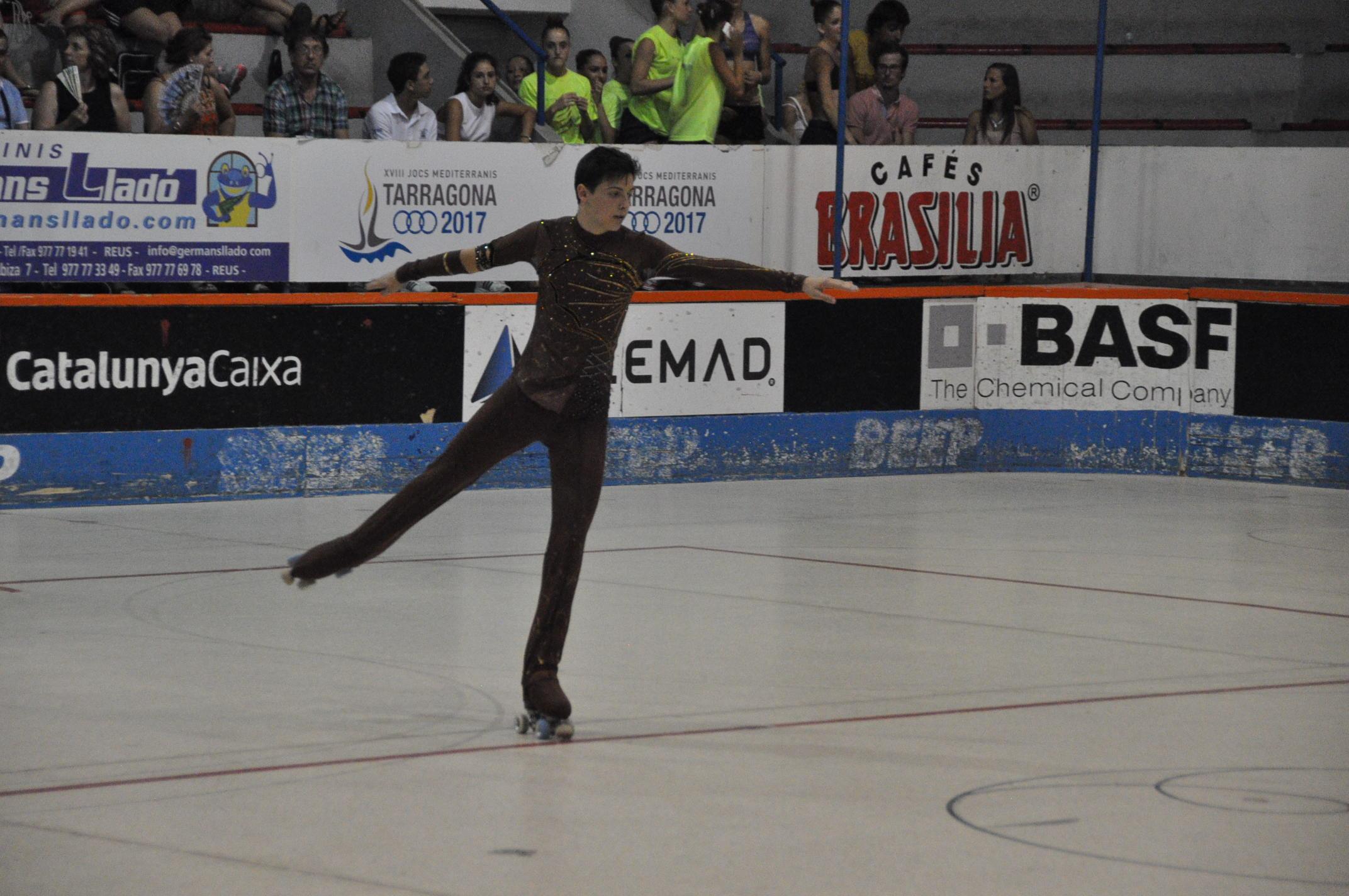 El jove Arenyenc, Eloi Canals, ha participat en el mundial de patinatge artístic sobre rodes en la categoria Junior, celebrat a Novara (Italia)