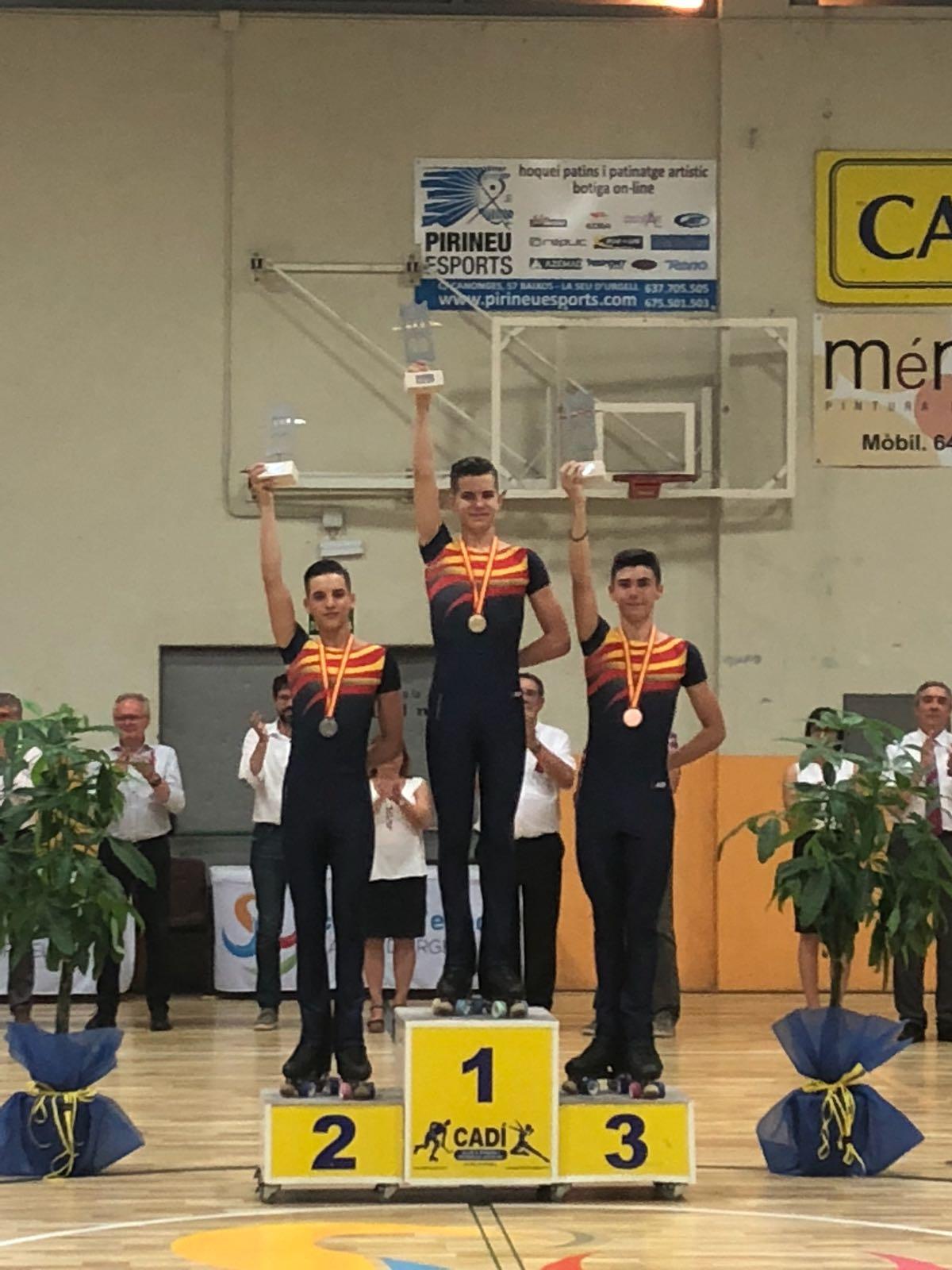 Clasificaciones en el Campeonato de España Cadete/Juvenil