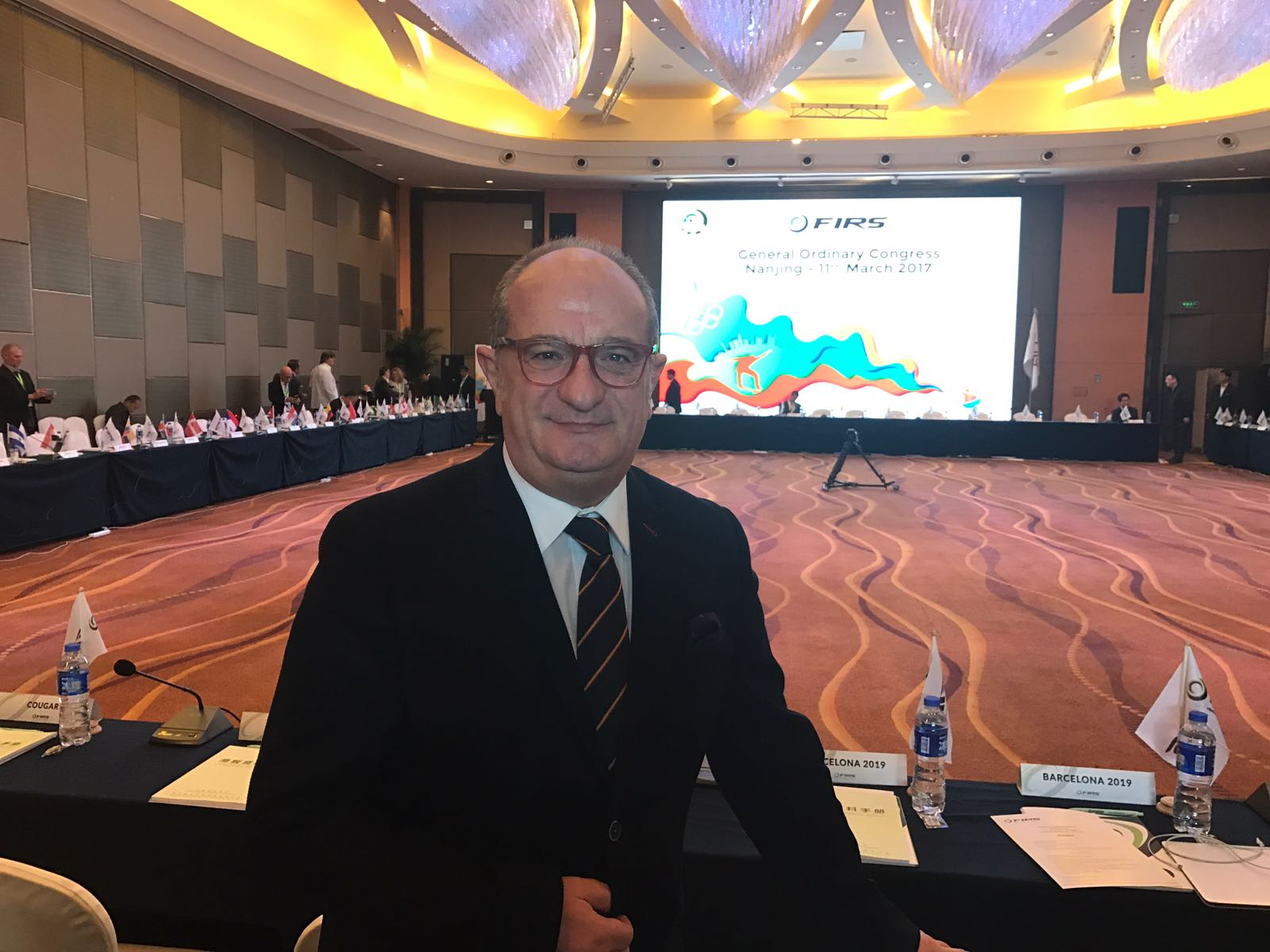 Carmelo Paniagua nombrado Presidente del Comité Internacional del Hockey sobre Patines (CIRH) en Nanjing (China)
