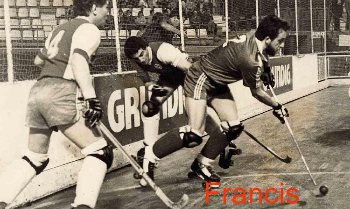 Fallece \'Francis\', el hictórico jugador del C.P. Cibeles - Hockey ...