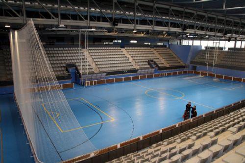 La ciudad deportiva de blanes el marco id neo para la - Pabellon de deportes de madrid ...